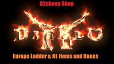 Diablo 2 LoD EUSC Ladder 9x Clean Skiller Of Your Choice Grand Charm