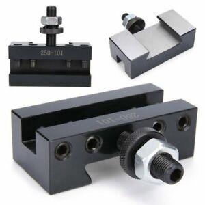 250-101 Turning & Facing Holders Steel Change CNC Lathes Tool Post Holder Set TU