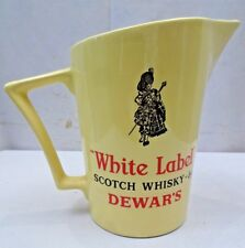 OLD DEWAR'S WHITE LABEL SCOTCH WHISKEY VINTAGE JUG WADE REGICOR LONDON ADVERTISE