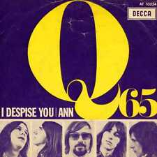 """Q65 """"I DESPISE YOU"""" ORIG HOLL 1967 KILLER GARAGE VG+/VG++"""