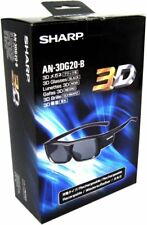 Sharp AN-3DG20-B 3D TV Glasses
