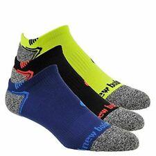 New Balance Men's Ladies No Show Running Socks- 3 or 12 Pairs Size 3-8 / 7-11