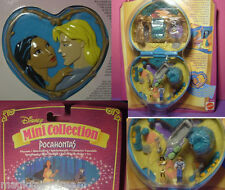 Polly Pocket Mini Disney NEU ♥ POCAHONTAS Playcase ♥ OVP ♥ NEW ♥ 1995 ♥ MOC ♥