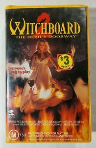 Witchboard 2: The Devil's Doorway VHS 1993 Horror Kevin Tenney (Ex-Rental)