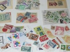 Worldwide assortment of stamps