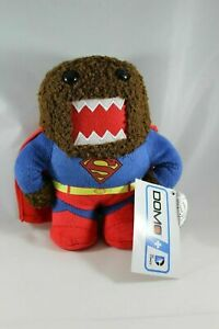 "Domo SUPERMAN DC Heroes Small 6 3/4"" Plush - New with tags"