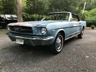1965 Ford Mustang  Mustang rally pack, power top, power brakes, power steering 289 V8 convertable