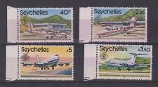 Seychelles 1981 Air Planes Set To 5 Rupees MNH J638