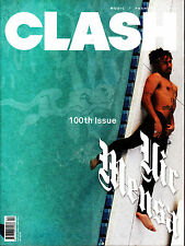 CLASH #100 S/S 2016 Special Iss VIC MENSA Elton John DAVID BOWIE Stormzy @NEW@