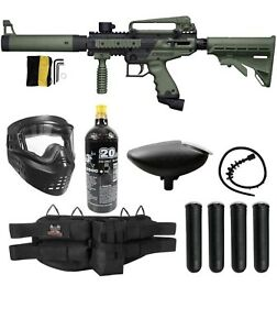 Maddog Tippmann Cronus Tactical Paintball Gun Package - Black/Olive
