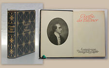 Julius Zeitler Goethe der Bildner 1909 Biografie Memoiren goldgeprägter Leder xy