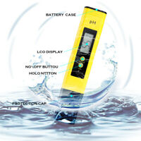 Digital Electric PH Meter LCD Tester Hydroponics Aquarium Water Test 0-9999 PPM