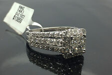 New 14K White Gold  Ladies Ring With 2.10CT Round Diamond, Wedding Collection