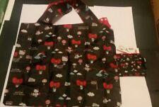 Loqi Sanrio Hello kitty foldable black  Shopping Bag  New  special edition