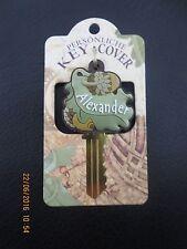 Keycover, der persönliche Schlüsselname, Buchstabe oder Name, A-E