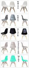 Design Stuhl Plastik Retro 1618 schwarz/weiss/grau/mint/cappuccino/orange