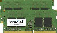 Crucial 16gb Kit [8gbx2] Ddr4-2400 Sodimm - 16 Gb [2 X 8 Gb] - Ddr4 Sdram - 2400