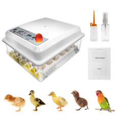 Digital Mini Egg Incubator with Automatic Turner and Egg Candler Tester