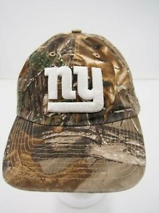 47 Brand New York Giants Camo Hunting Football Hat Cap Adjustable