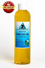 CAMELINA OIL UNREFINED ORGANIC VIRGIN COLD PRESSED RAW PREMIUM FRESH PURE 8 OZ