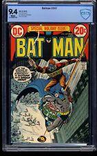 Batman #247 CBCS NM 9.4 White Pages