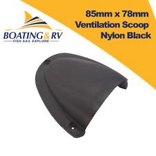 Ventilation Scoop Nylon Black 85mm X 78mm - Boating Deck Hardware
