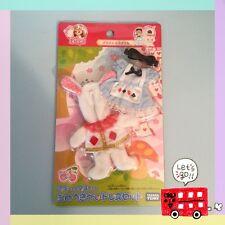 Takara Tomy Licca Doll Dress Set for Miki & Maki Alice in Wonderland Rabbit RARE