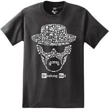Breaking Bad Heisenberg Face Black Men's T-shirt New