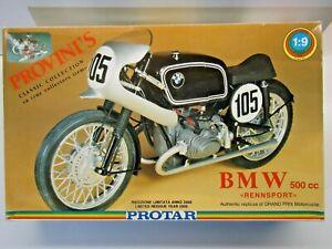 Protar 1:9 Scale BMW 500cc Rennsport Year 2000 Reissue Model Kit - New - # 11324