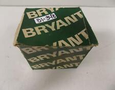 BRYANT 60AMP ANGLE NYLON PLUG 3 POLE GROUNDING 9462-ANP NIB