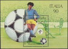 LAOS Bloc N°107** Football Italia 1990, Italy Soccer world cup Sheet Sc#1004 MNH
