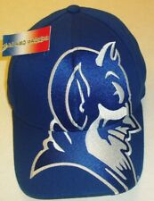 Duke Blue Devils 90s vintage stretch fit hat one size New Ncaa Big Logo
