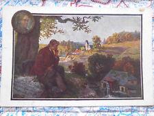 München Gedicht Mann Landschaft Gemälde Kunstwerk Postkarte Ansichtskarte 3034