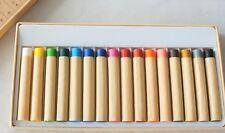 MUJI 16 color Crayon Dye Sticks for Cloth paint To make your original Tshirt bag