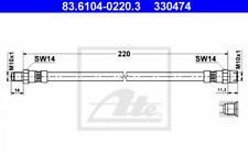 Bremsschlauch für Bremsanlage Hinterachse ATE 83.6104-0220.3
