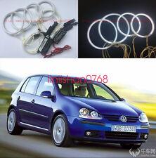 4pcs Excellent CCFL Angel Eyes kit Halo Ring For Volkswagen VW Golf 5 MK5 2005
