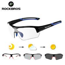 ROCKBROS Велоспорт фотохромные солнцезащитные очки открытый велосипед очки унисекс очки