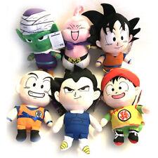 Dragon Ball Z DBZ Vegeta Goku Gohan Piccolo MajinBuu Krillin Plush Doll 6PCS USA
