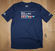 a72dbdd7e10 BROOKS Men's Small Navy Blue Running Jogging Shirt 2015 Brooklyn NY  Marathon New