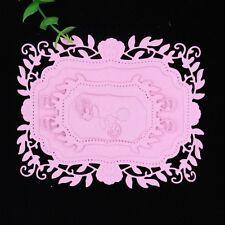 Flower Frame Metal Cutting Dies Stencil Card Paper Embossing Craft Scrapbooking