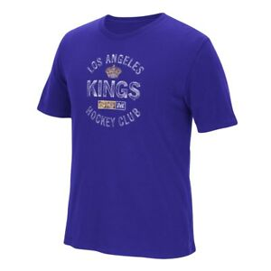 "Los Angeles Kings CCM ""Hit The Post"" NHL Distressed Men's Premium T-Shirt"