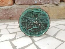 1930s Vintage Extra Rare East End Watch Co. Romeo Time Piece Tin Box Germany