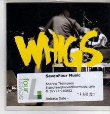 (CP927) The Whigs, Kill Me Carolyne - 2011 DJ CD