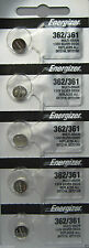 Energizer 362 361 (SR721SW) Silver Oxide Watch Batteries (1 pack of 5)