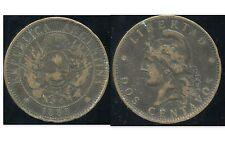 ARGENTINE 2  dos  centavos 1885