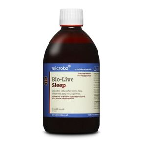 Microbz Bio-Live Sleep 475ml - Live Active Cultures for Restful sleep (Reduced)