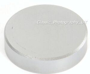 LEICA L39 / LTM Chromed BRASS Lens Cap LEITZ for LTM SUMMILUX Elmar SUMMAR