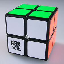 Black Moyu 2x2x2 Lingpo Smooth US Speed Gift Brain Teaser Cube Magic YJ Puzzle
