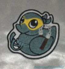 Embroidered Adorable Ninja Rubber Duckie Duck Warrior Patch Iron On Sew On USA