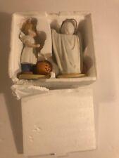 1985 Home Interiors Denim Days Homco #1516 Halloween Fun Box w/ Tag New
